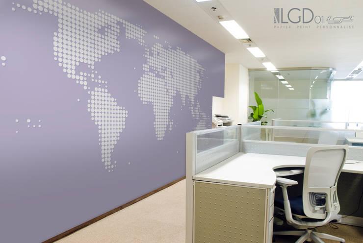 LGD01 GéoPIX©: Murs & Sols de style  par LGD01