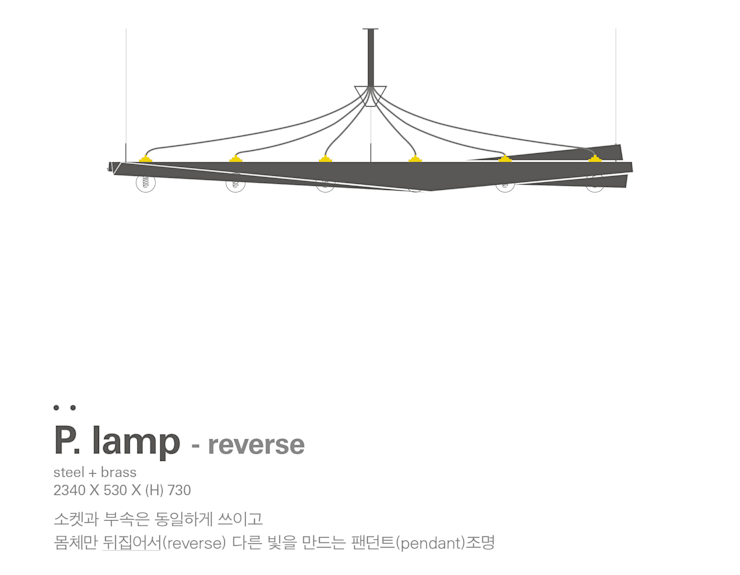 MP P.lamp – reverse: Metal Play의