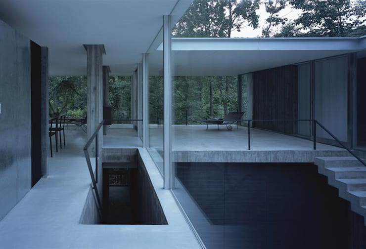 House Ao: UAが手掛けた家です。,モダン
