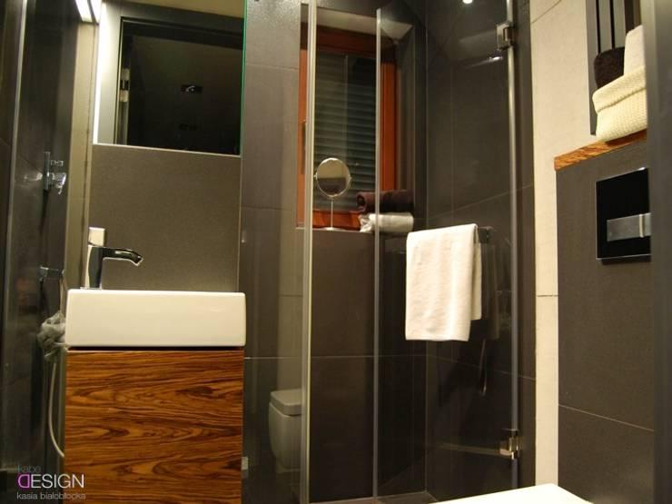 Projekt Koninko: styl , w kategorii Łazienka zaprojektowany przez kabeDesign kasia białobłocka