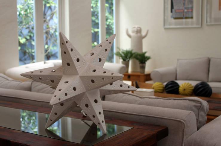 Lampara estrella 2 de TACAMACA Ecléctico