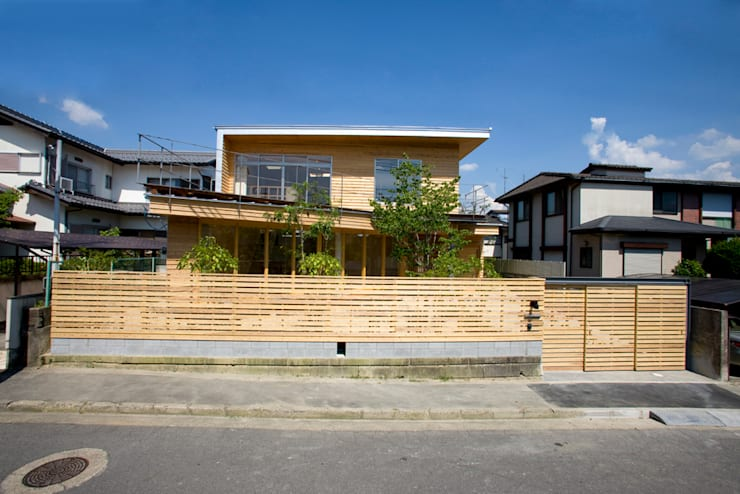 Casas de estilo  de 松下建築設計 一級建築士事務所/Matsushita Architects