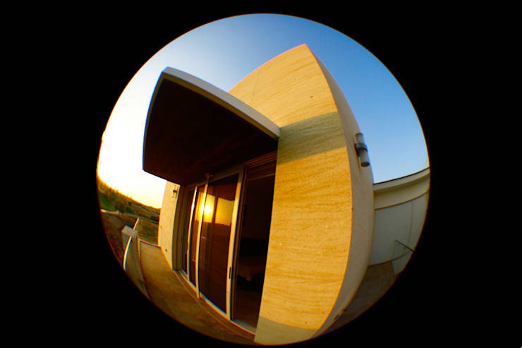 Casa Mazatlán: Terrazas de estilo  por 360arquitectura