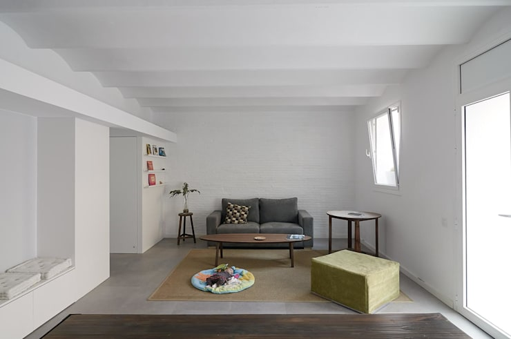 AFarquitectura: minimal tarz tarz Oturma Odası