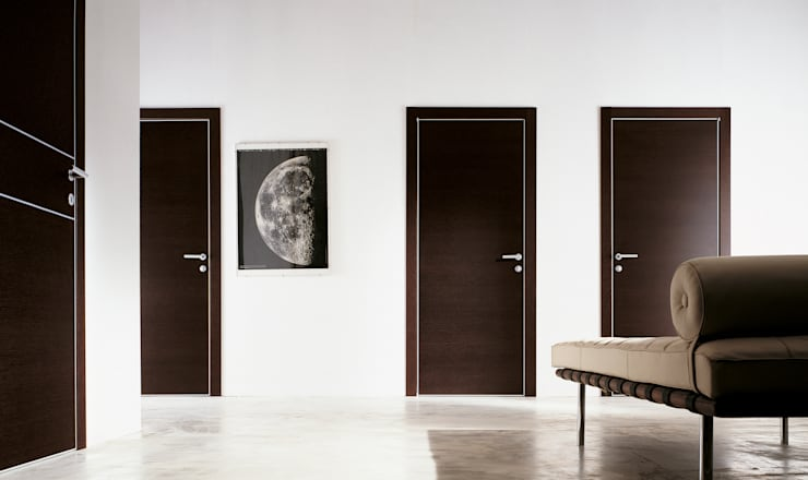 DELO BATTENTE: Finestre & Porte in stile in stile Moderno di MOVI ITALIA SRL