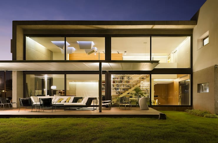 Casa D&E: Casas de estilo  de sanahuja&partners