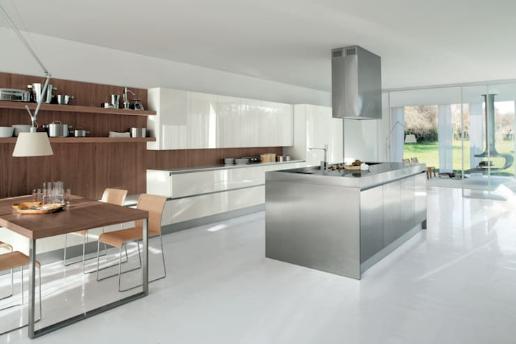 Sidney: Cucina in stile  di doimo cucine, Moderno