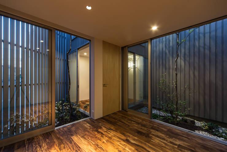鳳の家 House in Otori: arbolが手掛けた和室です。