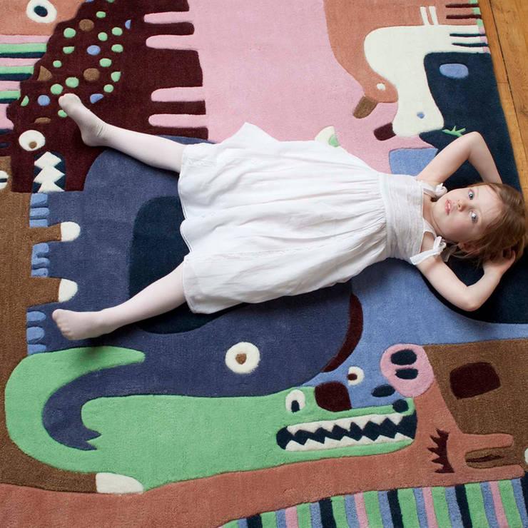 Tapis Puzzle Animaux: Chambre d'enfants de style  par ART FOR KIDS