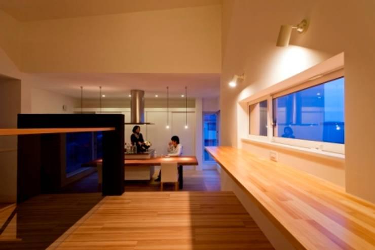 癒しの家: タムラ設計が手掛けたキッチンです。