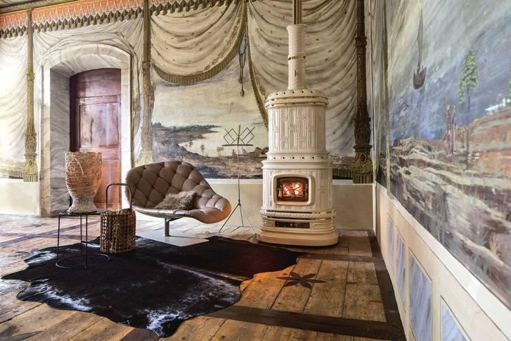 Projekty,  Salon zaprojektowane przez SERGIO LEONI