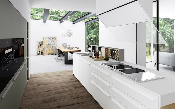 modern Kitchen by Meson's