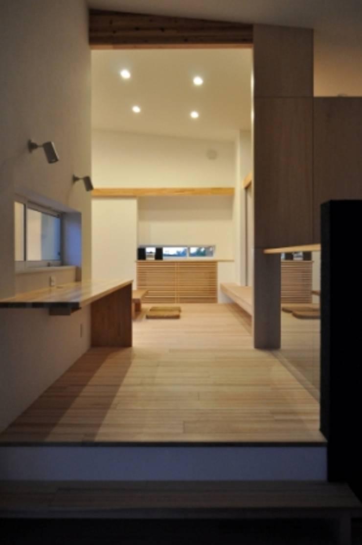 癒しの家: タムラ設計が手掛けたリビングです。