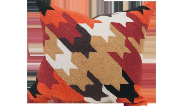 Crewel Cushions:   by Crewel Fabric From Zia Enterprises