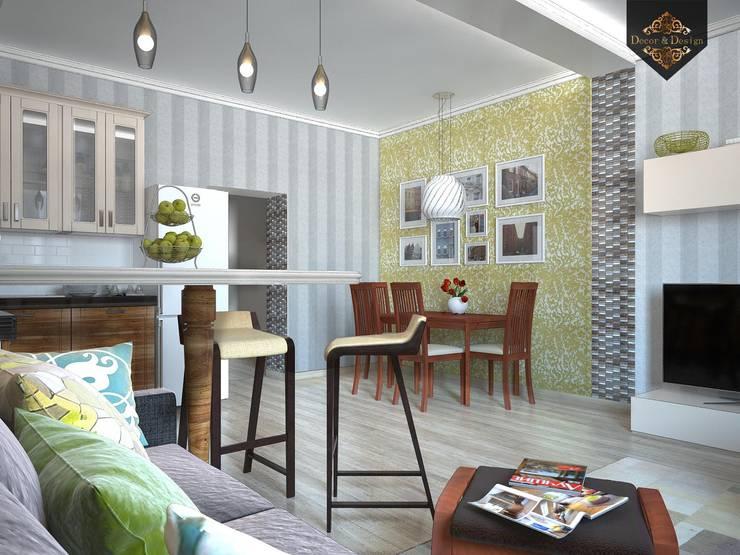 Весенний интерьер: Столовые комнаты в . Автор – Decor&Design,