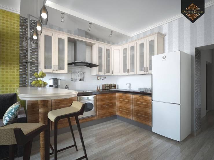 Весенний интерьер: Кухни в . Автор – Decor&Design,