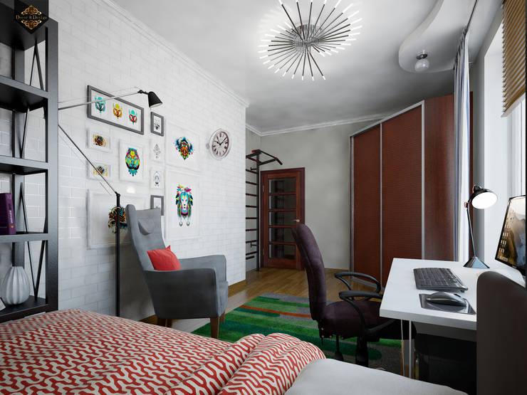 Весенний интерьер: Детские комнаты в . Автор – Decor&Design,