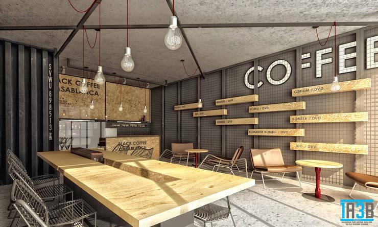 1A3B TASARIM – Beşiktaş Black Coffee:  tarz İç Dekorasyon