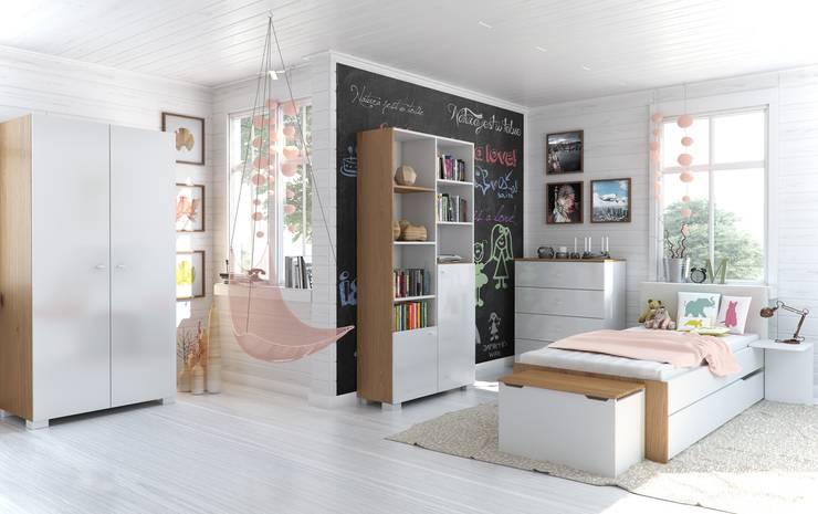 Uni Nature:  Kinderzimmer von Möbelgeschäft MEBLIK