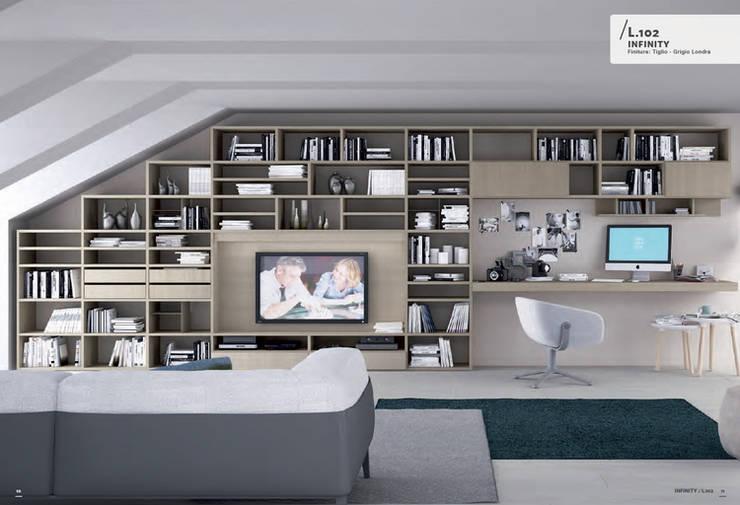Colombini Casa Sistema Infinity: Casa in stile  di Davide Montanaro ,