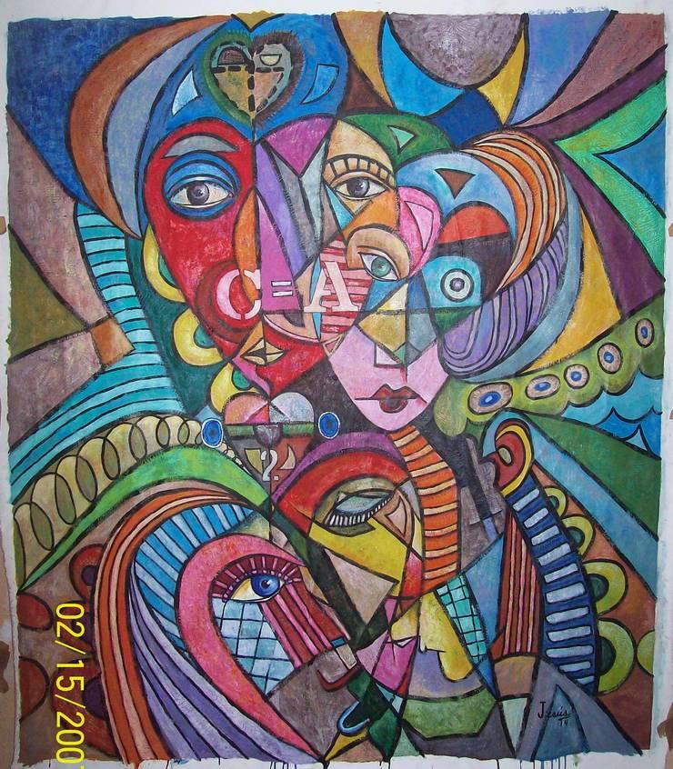 PINTURA DECORATIVA Y ARTISTICA:  de estilo  por JESUS RODRIGUEZ SADOVAL