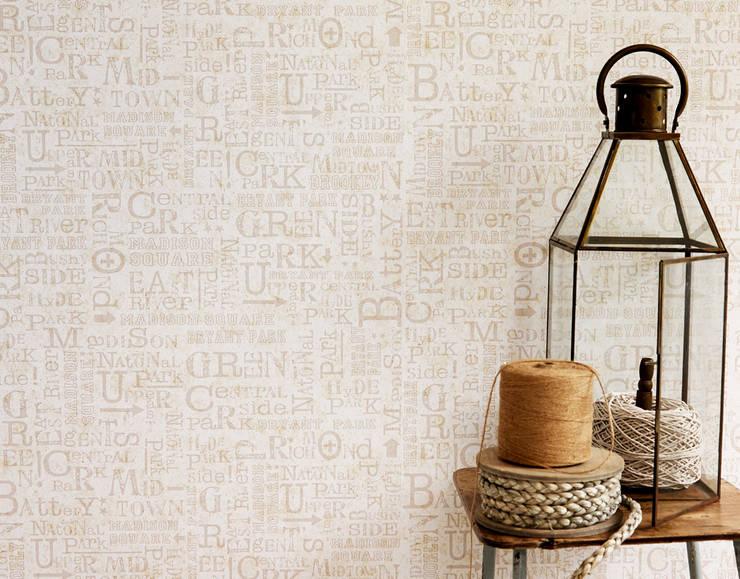 Coleccion Djooz: Paredes y suelos de estilo  de Disbar Papeles Pintados