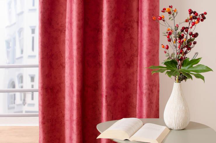 Dark Opal 4242-83:  Wohnzimmer von Indes Fuggerhaus Textil GmbH