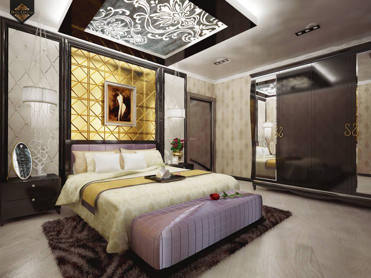 Интерпретация арт-деко: Спальни в . Автор – Decor&Design