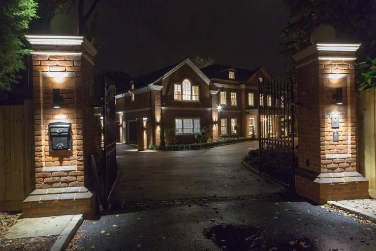Flairlight Project 1 Oxshott, Tudor House:  Houses by Flairlight Designs Ltd
