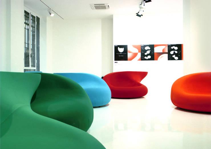 .: Setsu & Shinobu Itoが手掛けた多目的室です。