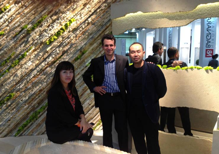 STONE PROFILE BATHTUB: Setsu & Shinobu Itoが手掛けた洗面所&風呂&トイレです。