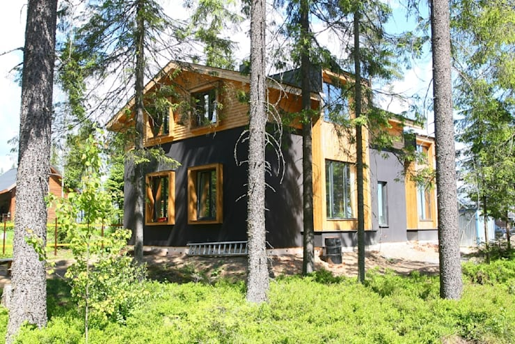 Casas de estilo  de Snegiri Architects