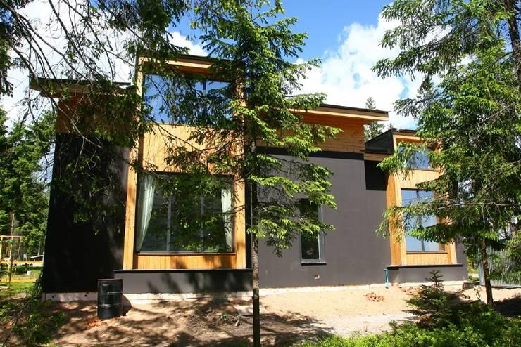 Дом в уровнях: Дома в . Автор – Snegiri Architects