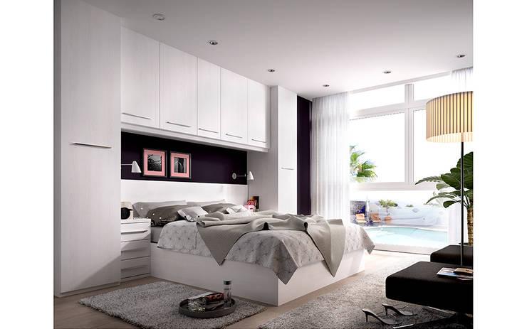 Dormitorios de matrimonio: Dormitorios de estilo  de Mueblalia