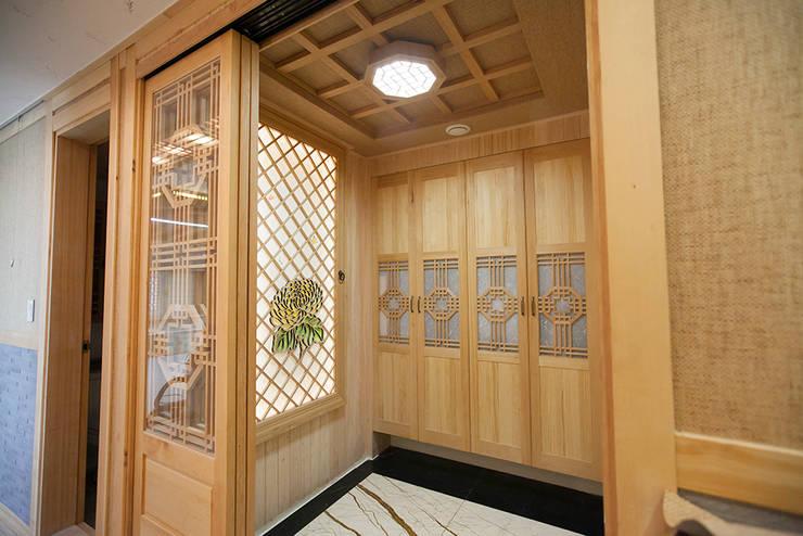 아파트를 한옥으로: 한옥공간의  창문