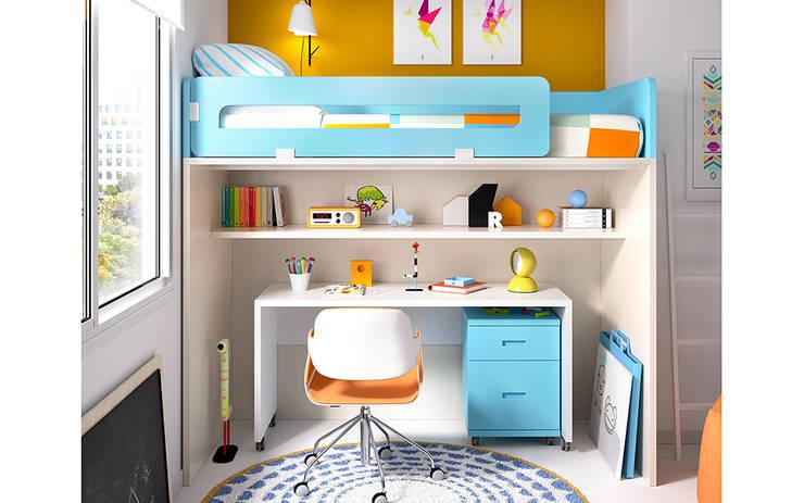 Projekty,  Pokój dziecięcy zaprojektowane przez Mueblalia