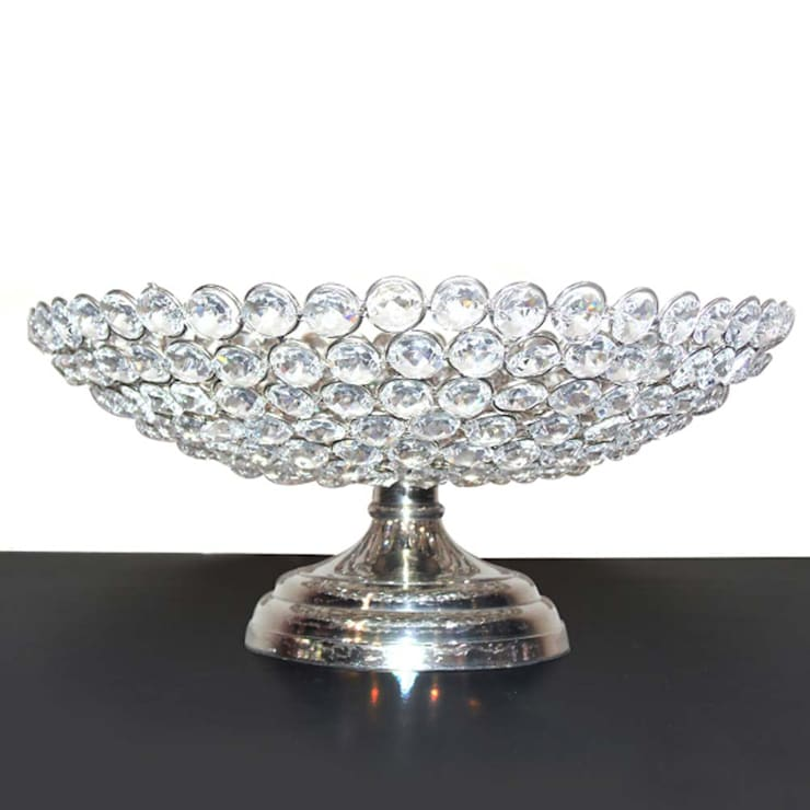 Home Decor Crystal Fruit Bowl:  Kitchen by M4design