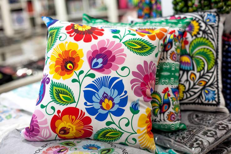 Poduszki folk: styl , w kategorii  zaprojektowany przez Folkstar,Wiejski
