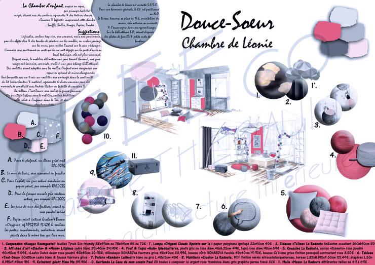 Maison de Famille: Chambre d'enfant de style  par dEEEco