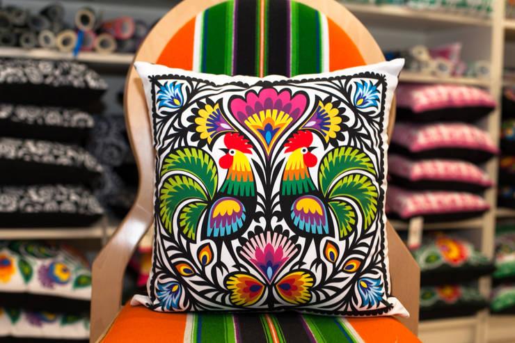 Poduszka kogucia: styl , w kategorii  zaprojektowany przez Folkstar,Wiejski
