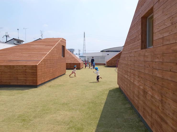 LEIMOND-MUKOU NURSERY SCHOOL:  Archivision Hirotani Studioが手掛けた学校です。