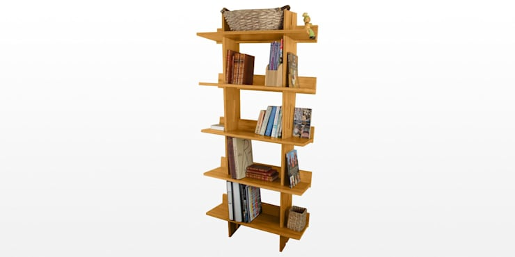Book Shelves:  Bedroom by Woodquail