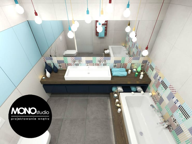 MONOstudio: modern tarz Banyo
