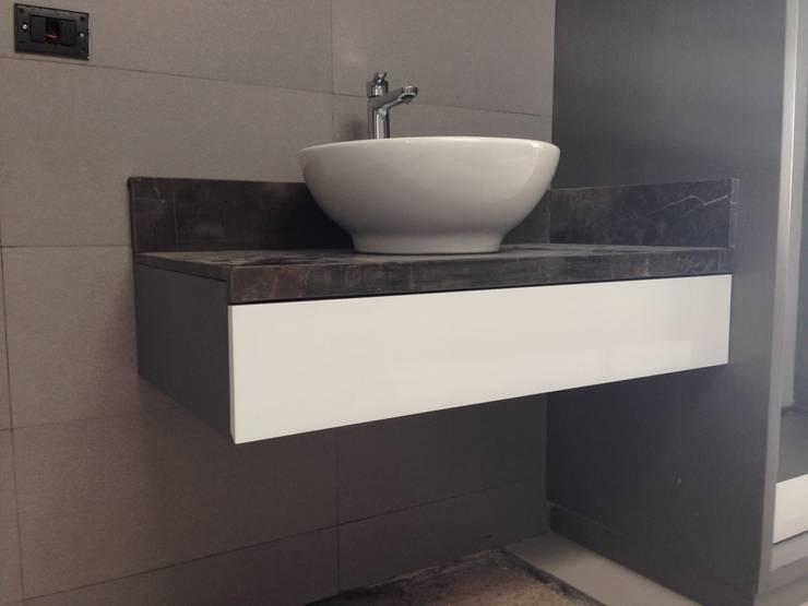 Muebles de Baño : Baños de estilo  por MAKE DESIGN