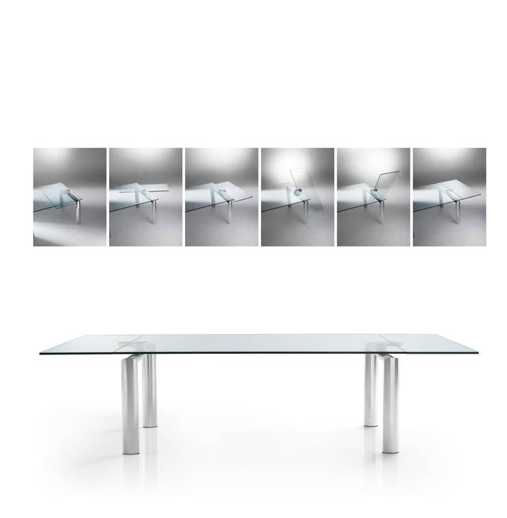 Tavoli Cristallo Allungabili Reflex.Tavolo Policleto Q By Reflex Homify
