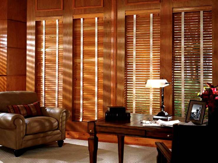 Puertas y ventanas de estilo tropical de TRTEX