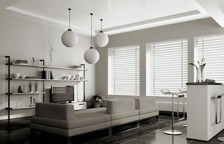 Puertas y ventanas de estilo  por TRTEX