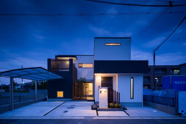 『NAKANIWA』 オリジナルな 家 の Studio REI 一級建築士事務所 オリジナル