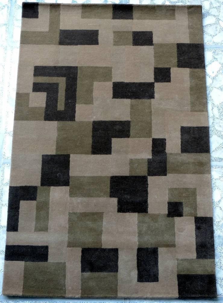 Handtufted Rugs:  Walls & flooring by Rugs De Indiska