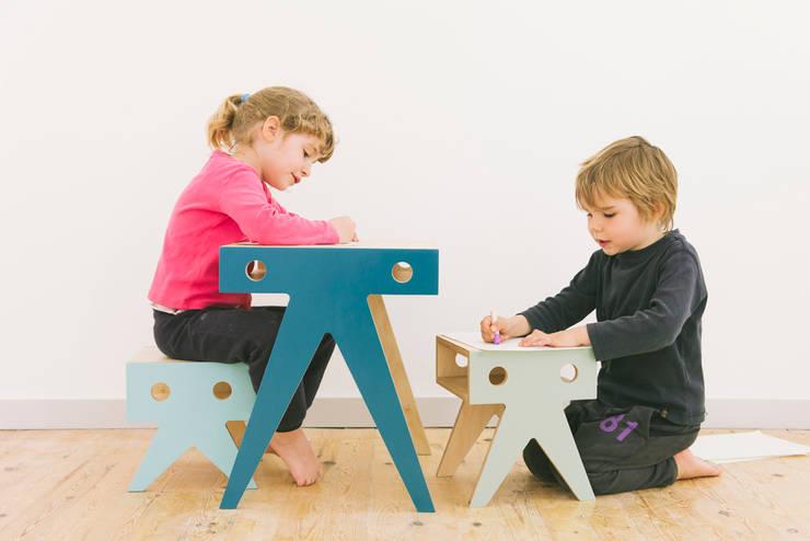 moderne Kinderzimmer von NIMIO · muebles que buscan personas